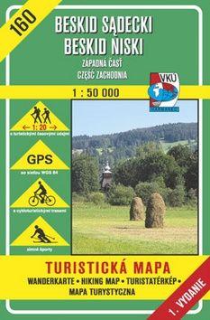 Beskid Sadecki Beskid Niski Západná časť 1:50 000 cena od 78 Kč