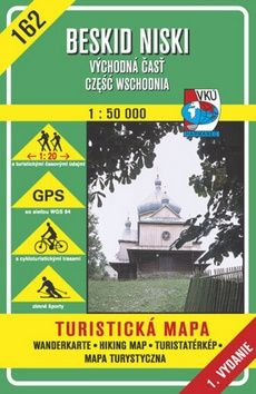 Beskid Niski Východná časť 1:50 000 cena od 77 Kč