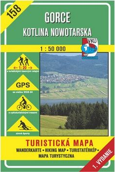 Gorce Kotlina Nowotarska 1:50 000 cena od 73 Kč