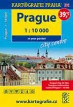 Prague - city centre in your pocket, 1 : 10 000 cena od 29 Kč