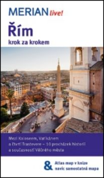 Ulrike Koltermann: Merian 26 - Řím krok za krokem cena od 164 Kč
