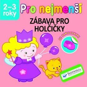 Pro nejmenší - Zábava pro holčičky se samolepkami cena od 37 Kč