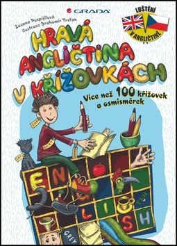 Zuzana Pospíšilová, Drahomír Trsťan: Hravá angličtina v křížovkách - Více než 100 křížovek a osmisměrek cena od 160 Kč
