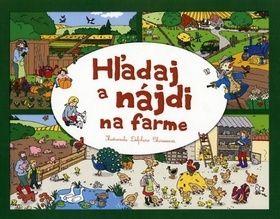 Delphine Clarisse: Hľadaj a nájdi na farme cena od 101 Kč
