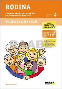 Martina Kupcová: Rodina - Pracovní sešit 4 cena od 40 Kč