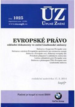 ÚZ 1025 Evropské právo cena od 101 Kč