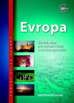 Evropa školní atlas cena od 116 Kč
