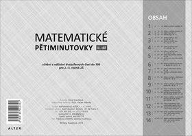 Hana Staudková: Matematické pětiminutovky - II. díl cena od 243 Kč