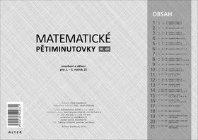 Hana Staudková: Matematické pětiminutovky - III. díl cena od 324 Kč