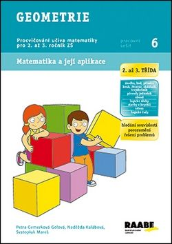 Petra Cemerková Golová, Naděžda Kalábová, Svatopluk Mareš, VHRSTI: Geometrie - Pracovní sešit 6 cena od 38 Kč