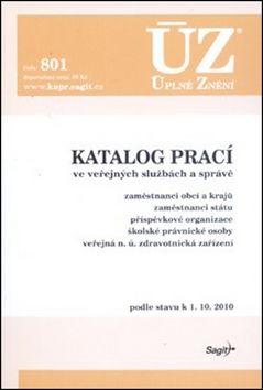 ÚZ č. 801 - Katalog prací ve veřejných službách a správě cena od 62 Kč