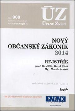 ÚZ 900 Nový občanský zákoník 2014 cena od 120 Kč