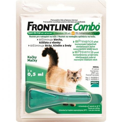 Frontline Combo Spot-on Cats sol 1x0,5 ml