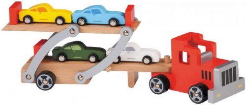 Johntoy Dřevěný převažeč aut