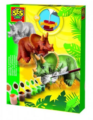 SES Sádrový komplet Triceratops cena od 209 Kč
