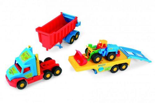 Wader Super Truck set 3669 cena od 849 Kč