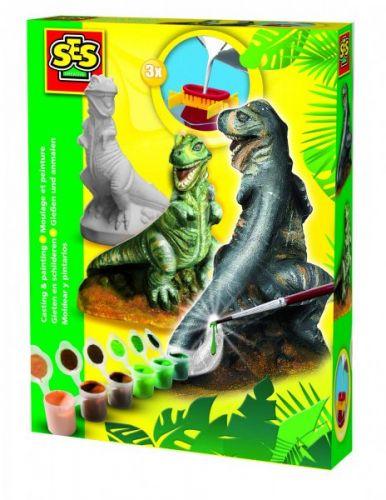 SES Sádrový komplet T-rex cena od 229 Kč