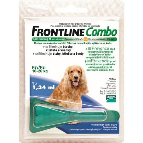 Frontline Combo Spot-on Dog M sol 1x1,34 ml