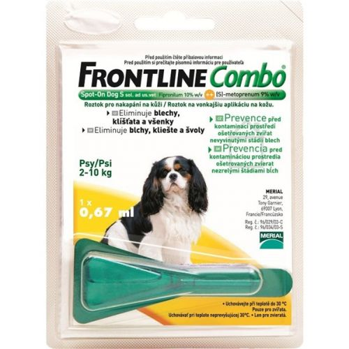 Frontline Combo Spot-on Dog S sol 1x0,67 ml