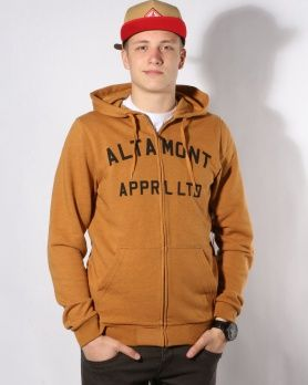 Altamont Qualifier ZH copper mikina