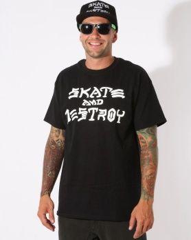 Thrasher Skate & Destroy triko
