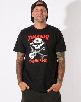 Thrasher Skate Rock triko