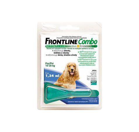 Frontline Combo Spot on Dog M 1x1 pipeta 1,34 ml