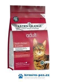 Arden Grange Cat Adult Chicken&Potato 400 g