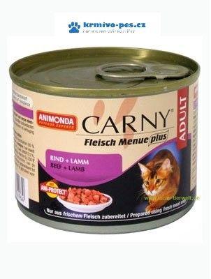 Askino Animonda konzerva Adult hovězí jehněčí 200 g