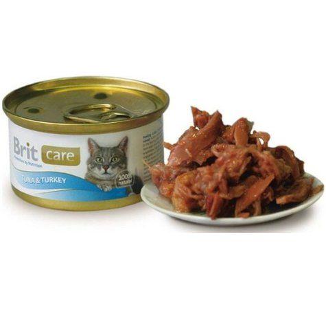 Brit Care Cat tuňák+krocan 80 g