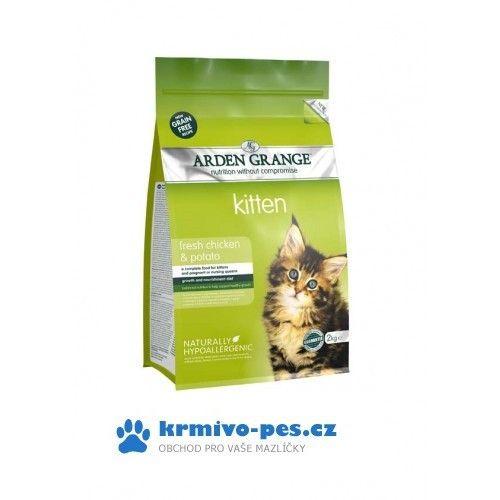 Arden Grange Cat Kitten Chicken&Potato 2 kg