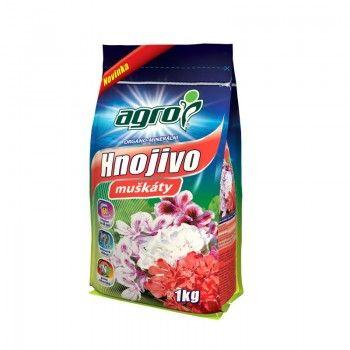AGRO Organominerální hnojivo muškáty 1 kg