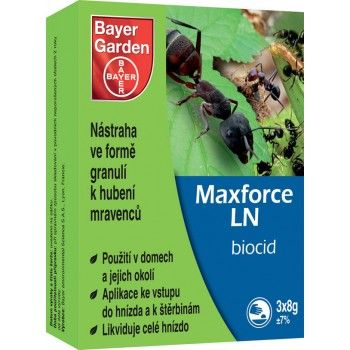 BAYER GARDEN BG Maxforce LN 3x8 g