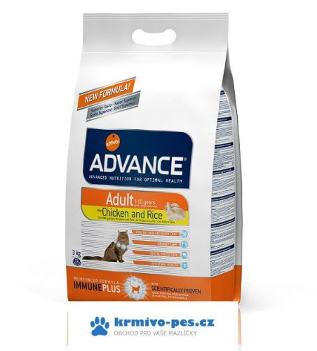 ADVANCE cat ADULT chicken rice 15 kg