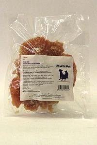 YANTAI China Pet Foods Want Dog Sušené kuřecí Jerky se sezamem 250 g