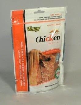 YANTAI China Pet Foods Wanpy Dog Jerky Chicken CUT 100 g