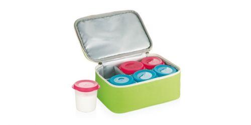 Tescoma BAMBINI jogurtovač 6 dóz s termobrašnou cena od 399 Kč