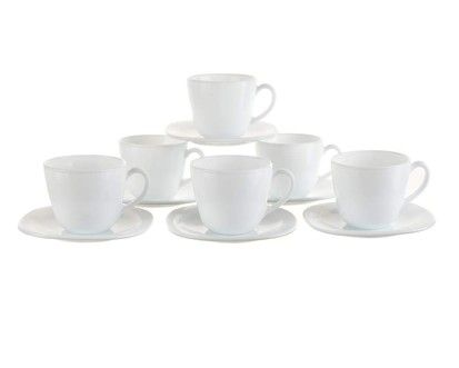 VETRO-PLUS sada na kávu 6dílná 22 cl