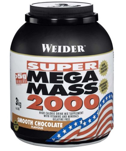 Weider SUPER Mega Mass 2000 Gainer 3000 g