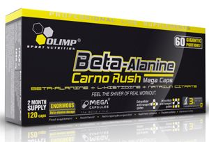 OLIMP Sport Nutrition Beta-Alanin Carno Rush 120 kapslí