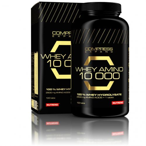 Nutrend COMPRESS WHEY AMINO 10 000 100 tablet