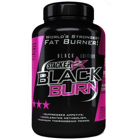 Stacker Black Burn 120 kapslí