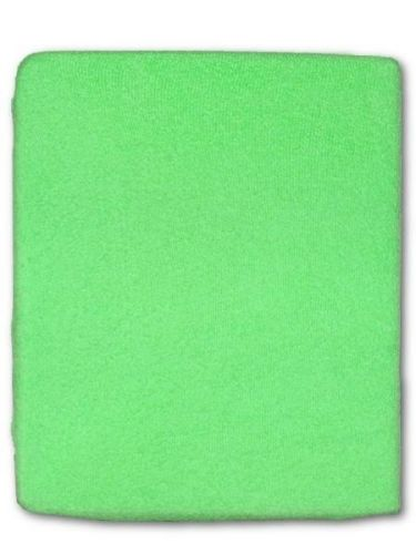 Akuku zelené froté prostěradlo