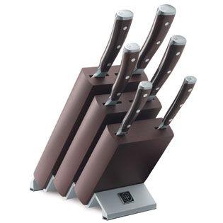 Wüsthof Blok se 6ti noži IKON 9866 cena od 18591 Kč
