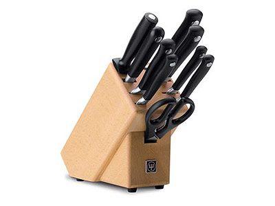 Wüsthof Blok s noži 9 dílů Grand Prix II 9855 cena od 11019 Kč