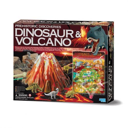Prehistorické objevy - Dinosaur a vulkán cena od 355 Kč
