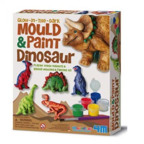 Playco Sádrové odlitky Svítící dinosaurus cena od 189 Kč
