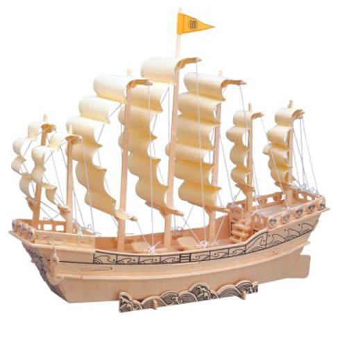 Woodcraft Loď plachetnice P131 cena od 136 Kč