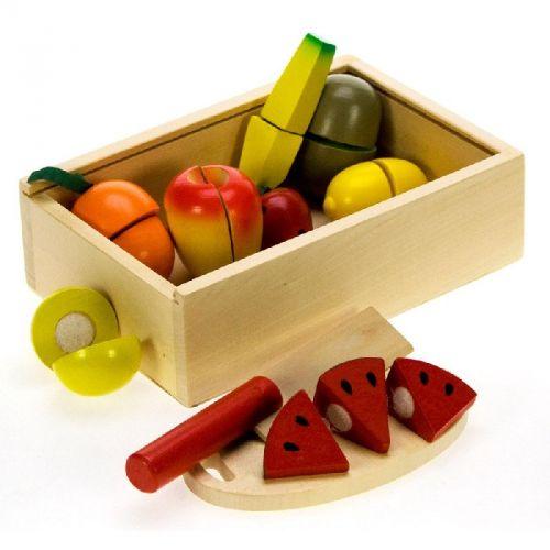 Bigjigs Toys Krájení ovoce v krabičce cena od 0 Kč