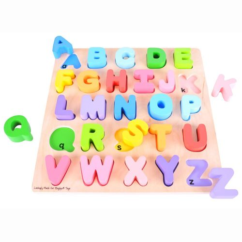 Bigjigs Toys Abeceda cena od 419 Kč